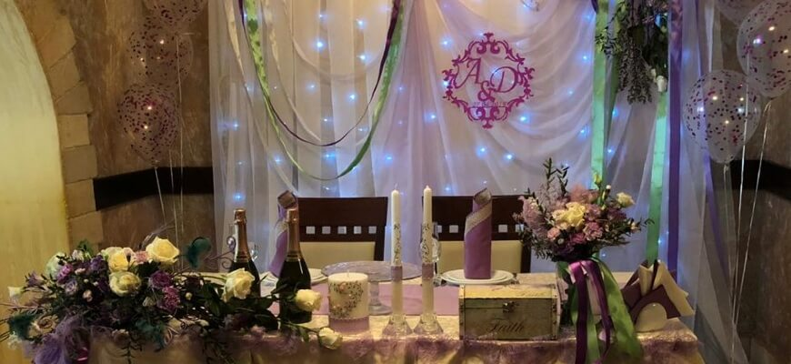 ресторан на востоке свадьба